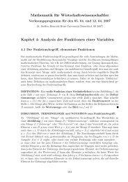 Der Funktionsbegriff, elementare Funktionen. - Heinrich-Heine ...