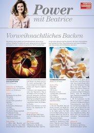 Gratis-Download: «Vorweihnachtliches Backen - Schweizer Illustrierte