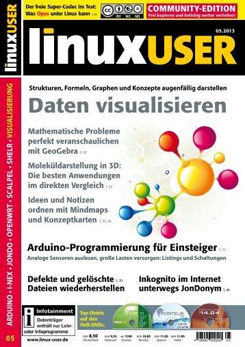 Ausgabe 05/2013 jetzt herunterladen - Linux User
