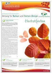 Zeitung für Balkon und Garten-Design - Salzburger ...