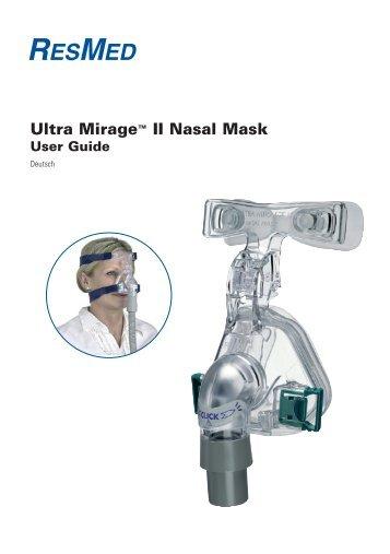 Ultra Mirage™ II Nasal Mask - ResMed