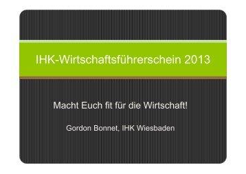 IHK-Wirtschaftsführerschein 2013 - Ihk-wirtschaftsfuehrerschein.de