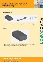 Montageanleitung für die LogicS Motorsteuerung - LOGICDATA