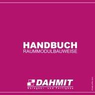 Handbuch für die Raummodulbauweise - DAHMIT