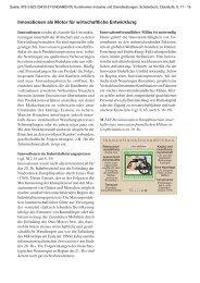Innovationen als Motor für wirtschaftliche ... - Ernst Klett Verlag