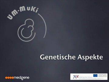 Genetische Aspekte in Um-MuKi - Umweltbundesamt