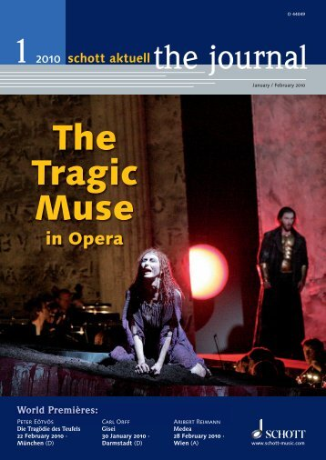 The Tragic Muse - Schott Music