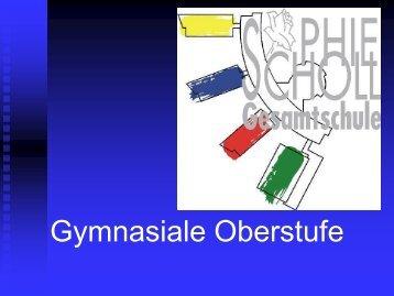 Aufgabenfeld I - Sophie-Scholl-Gesamtschule