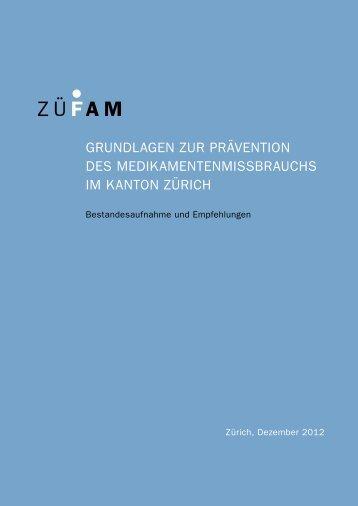 PDF-Dokument - Zürcher Fachstelle für Prävention des Alkohol