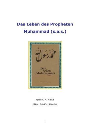Das Leben des Propheten Muhammad - Deutsche Muslim Liga eV