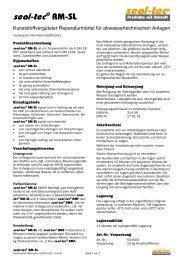 seal-tec RM-SL (Technische Information) - Ist-web.com
