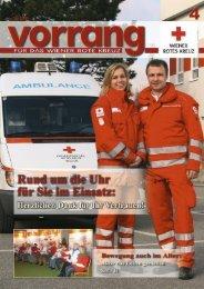 Vorrang, Ausgabe 4/2010 - Österreichisches Rotes Kreuz