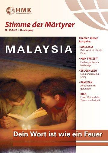 MALAYSIA - HMK - Hilfe für verfolgte Christen