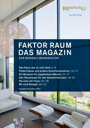 FAKTOR RAUM DAS MAGAzIN - helge kunz architect