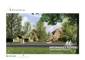 infopakket kopers locatie andreas sauerlaan - Gemeente Meerssen