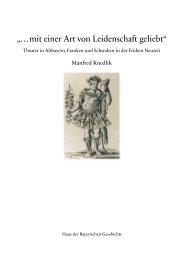 """""""…mit einer Art von Leidenschaft geliebt"""" - Haus der Bayerischen ..."""