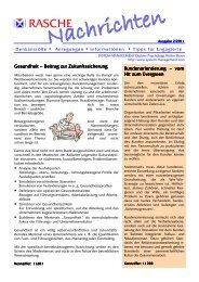 Gesundheit – Beitrag zur Zukunftssicherung - System-Management