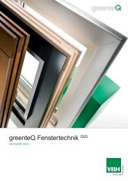 greenteQ Fenstertechnik 2012