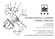 INTERNATIONAL CAMPING TORRE CERRANO - Bimbinvacanza.it
