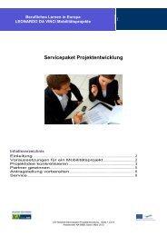SERVICEPAKET: Projektentwicklung - NA-BIBB
