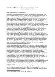 Zusammenfassung des am 18.11.2011 in Weimar gehaltenen ...