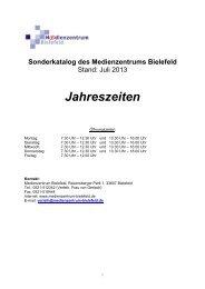 Jahreszeiten - Medienzentrum Bielefeld