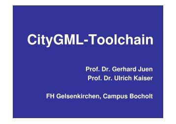 CityGML-Toolchain
