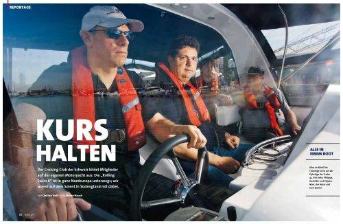 ALLE IN EINEM BOOT - Trader Motor Yachts