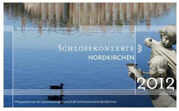 Sonate Nr. 2 D-Dur - Schlosskonzerte Nordkirchen