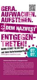 Download-Link - Aktionsbündnis Gera gegen Rechts