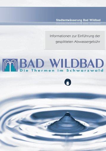 Informationsbroschüre zur gesplitteten ... - Bad Wildbad