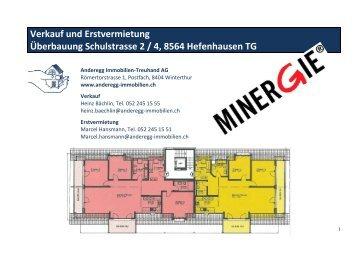 Verkauf und Erstvermietung Überbauung Schulstrasse 2 / 4, 8564 ...