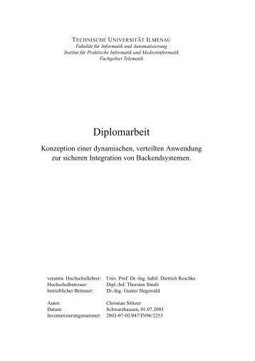 Paper - Lehre und Forschung Thorsten Strufe