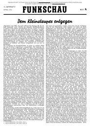 Funkschau 14.Jahrgang 1941 Heft4 - Radiomuseum.org