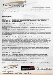 Programm - Bayerischer Triathlon Verband