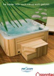 Prospekt procopi Whirlpools - Sunday-Pools