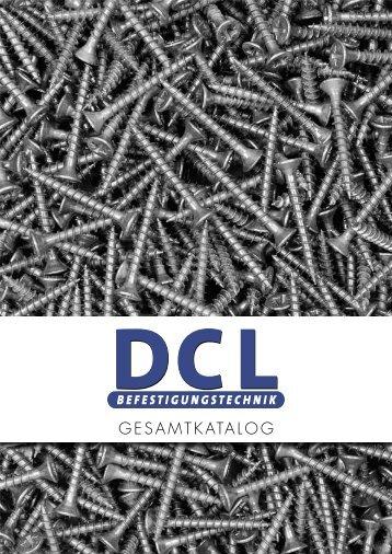 GESAMTKATALOG - DCL Befestigungstechnik