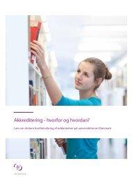 Akkreditering - hvorfor og hvordan? - ACE Denmark