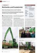 Reichweite und Produktivität Materialumschlagmaschine ersetzt ... - Seite 2