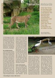 Tierische Rekorde - Birseck Magazin