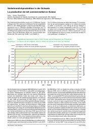 Verkehrsmilchproduktion in der Schweiz La production de lait ...
