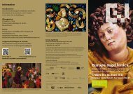 Flyer zur Ausstellung (Download PDF, 1MB) - europa jagellonica