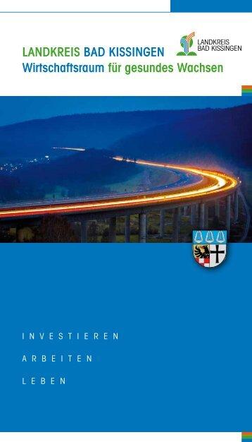 Landkreis Bad kissingen Wirtschaftsraum für gesundes Wachsen