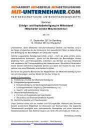 und Kapitalbeteiligung im Mittelstand - mit-unternehmer.com ...