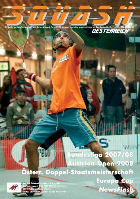 NEWS - beim Österreichischen Squash Racket Verband