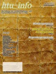 Ausgabe № 04 / 2011 - HTU HochschülerInnenschaft an der TU Wien