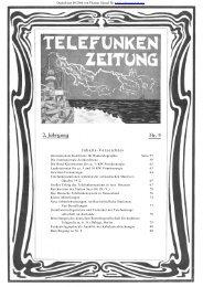 Telefunken-Zeitung 2. Jahrgang Nr.9 Dezember 1912 - Radiomuseum.org