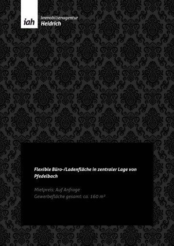 Exposé als PDF - Immobilienagentur Heidrich