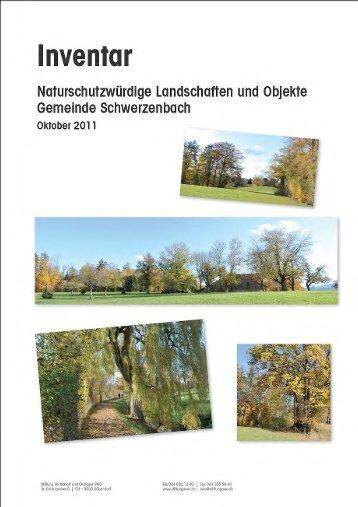 Kommunales Naturinventar - Stiftung Wirtschaft und Ökologie SWO