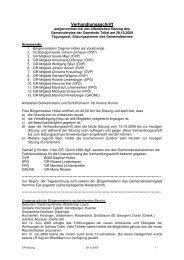 GR-Sitzung 29.10.2009 (624 KB) - .PDF - Tollet